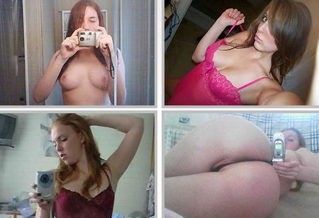 Amateur girlfriend self shots